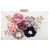 Bagood , Damen Clutch Gr. One size, weiß