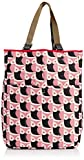 Orla Kiely Little Owl Quilted Reversable, Damen Shopper, Rot - Red (Candy/Red) - Größe: