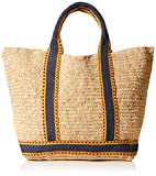 Vanessa Bruno Damen Cabas Grand Raphia Tote, Braun (Naturel), 19x36x56 centimeters