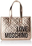 Love Moschino Damen Jc4209pp0a Tragetasche (Tote Bag), Rot (Red Quilted), 16x31x42 Centimeters