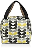 Orla Kiely Damen Tonal Stem Printed Large Box Schultertaschen, Mehrfarbig, One Size