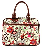 Oilily Tropical Birds Office Bag Off White