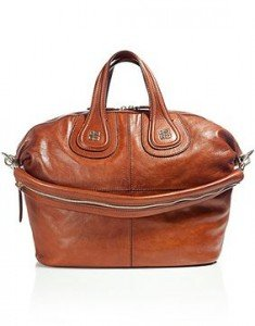 Givenchy the Nightingale Cognac Medium Tasche