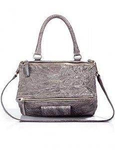 Givenchy the Pandora Charcoal Medium Bag