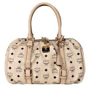 MCM Bowling-Bag Boston Medium