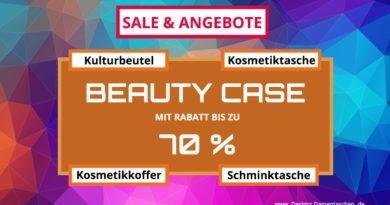 Beauty Case / Kulturbeutel / Kosmetiktasche / Schminktasche / Kosmetikkoffer Angebote