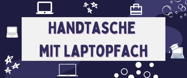 Handtasche mit Laptopfach