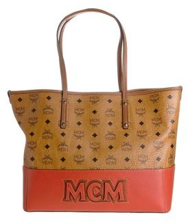 MCM EAST WEST Shopping bag brown