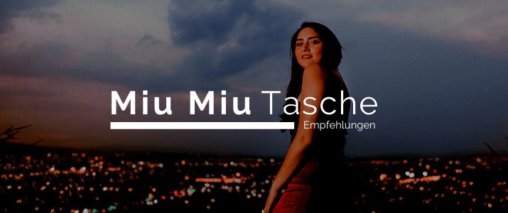 Miu Miu Tasche