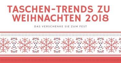 TASCHEN-TRENDS ZU WEIHNACHTEN 2018