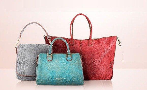 Designer Handtaschen im bunten Herbst