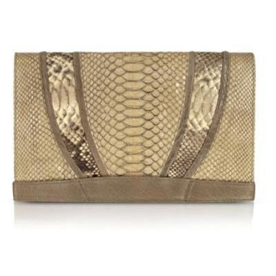 Abaco Bellagio - Oversized Clutch aus Python