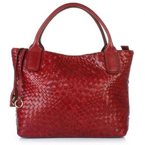 Abro Handtasche Leder Athene red