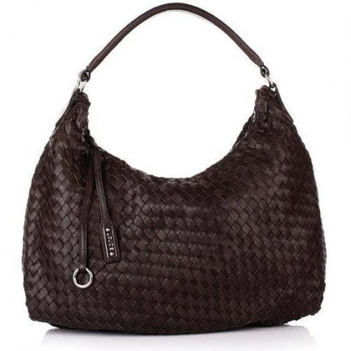 Abro Handtasche Leder Nappa Alce dark brown