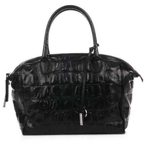Abro Handtasche Leder Primitivo Black