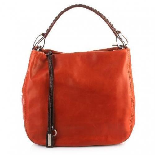 Abro Handtasche Leder San Franciso Rust
