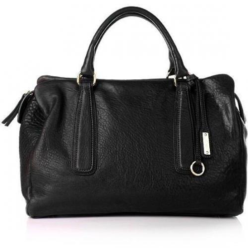Abro Handtasche Tote Leder Nappa London black