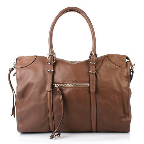 Abro Handtasche Leder Nappa Alce StrapTaupe
