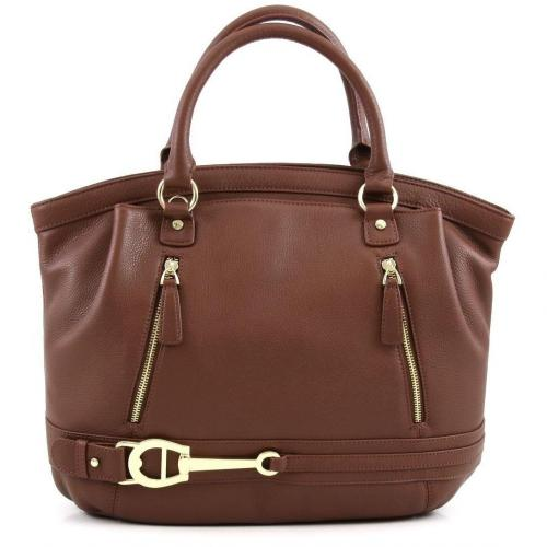 Aigner All In L Shopper Leder whisky