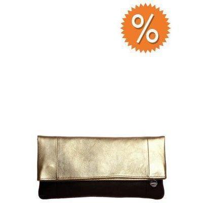 clutch schwarz gold