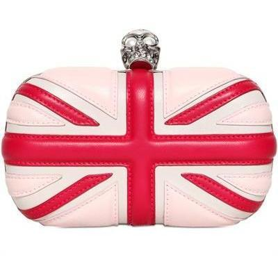 Alexander McQueen - Britannia Totenkopf Box Clutch