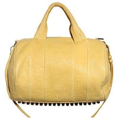 Alexander Wang - Rocco Pale Gold Leder Handtasche