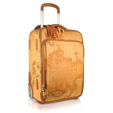 Alviero Martini 1A Classe 1a Prima Classe - Trolley Carry on mit Geoprint