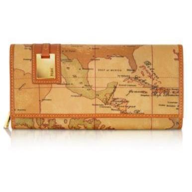 Alviero Martini 1A Classe Brieftasche für Damen mit Geoprint