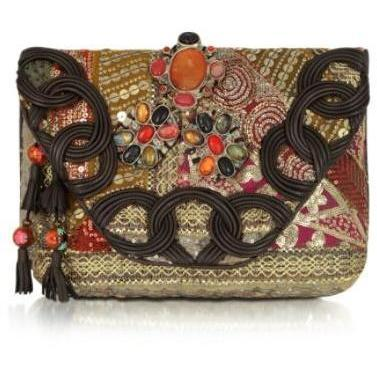 Antik Batik Amarilo Clutch Bag