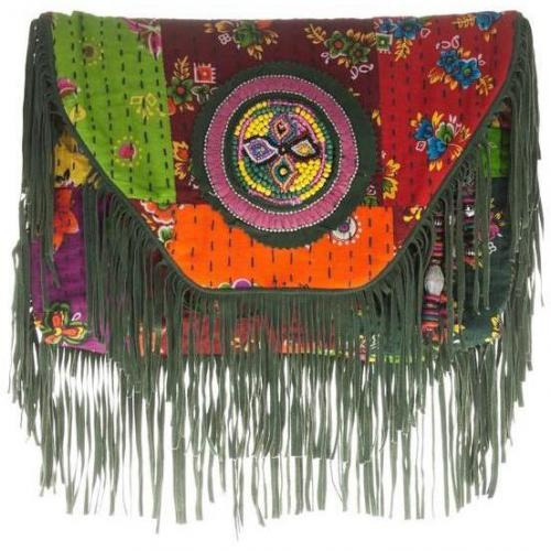 Antik Batik Wallet Hida Green
