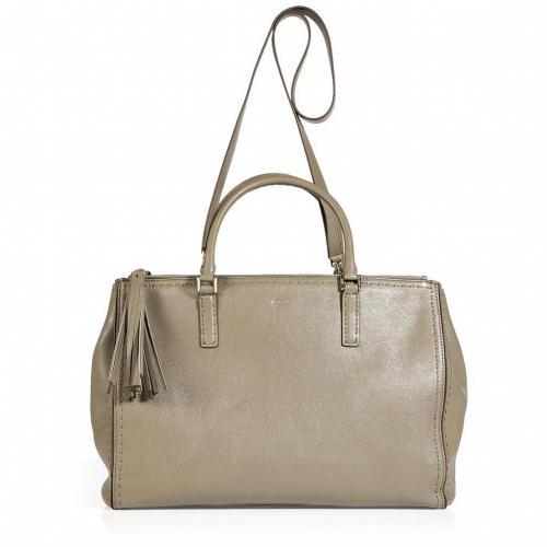 Anya Hindmarch Taupe Shoulder Pimlico Bag