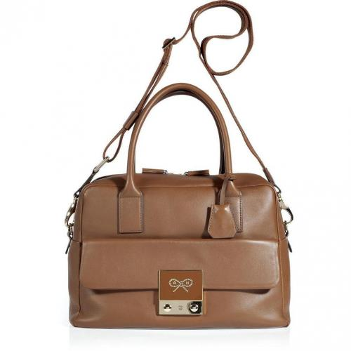 Anya Hindmarch Toffee Tiny Tim Tote