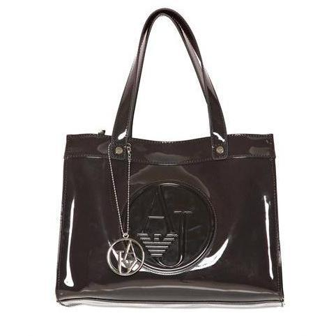 Armani Jeans - Embossed Logo Patent Tasche