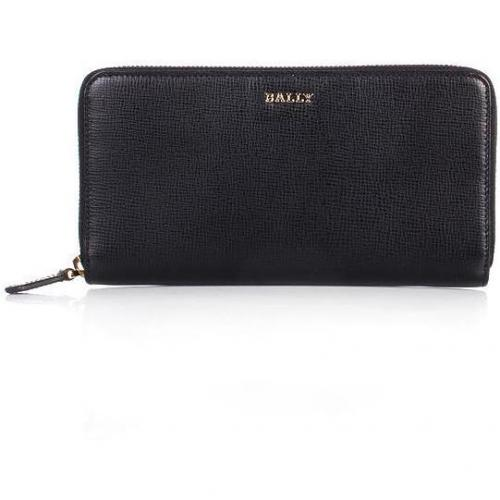 Bally Morissa Wallet Purple Black Red Flame