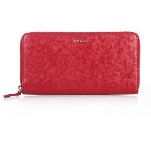 Bally Morissa Wallet Purple Red Classic