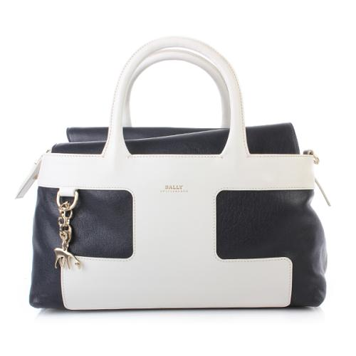 Bally Pama MD Navy Blue White
