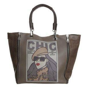 Barbara Rihl AMAZING DARIA Shopping bag taupe