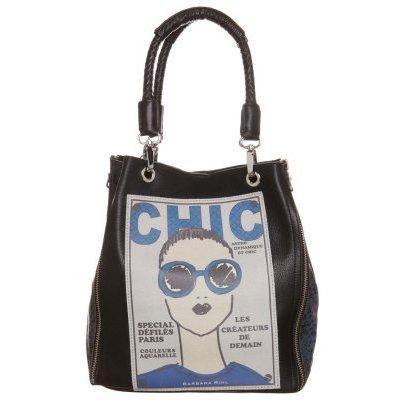 Barbara Rihl MATCHLESS HELENA Shopping bag schwarz darkblue