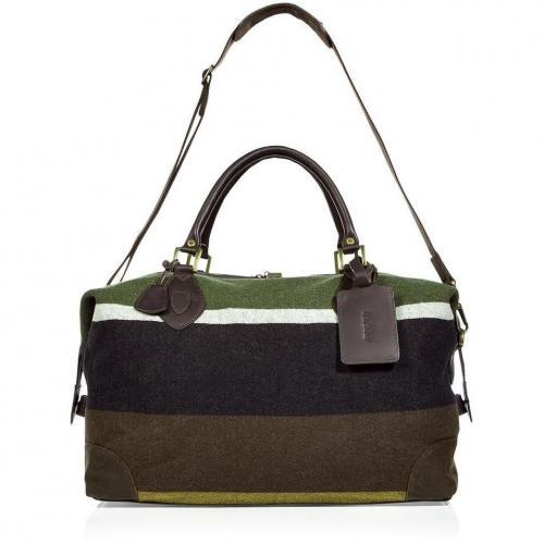 Barbour Multicolor Wool Explor Bag