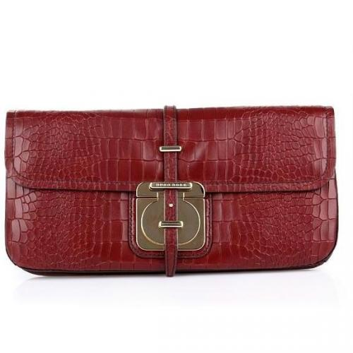 Boss Black Clutch Colyn-C Open Red