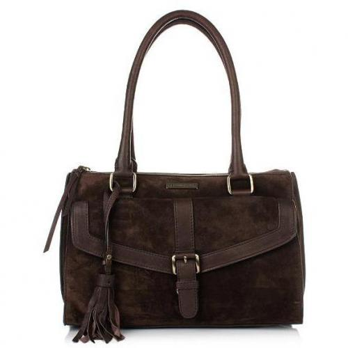Boss Orange Malile Shoulder Bag Dark Brown