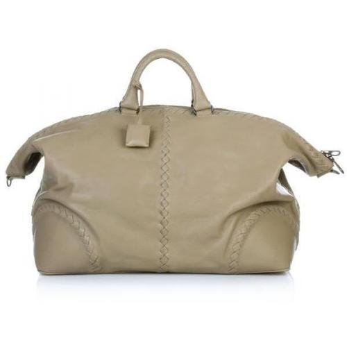 Bottega Veneta Traveler Bag Beige