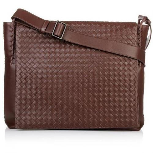 Bottega Veneta Woven Leather Soulder Bag