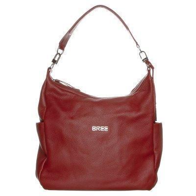 Bree NOLA Handtasche dark rot