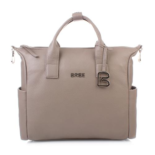 Bree Nola 7 melange business bag grained