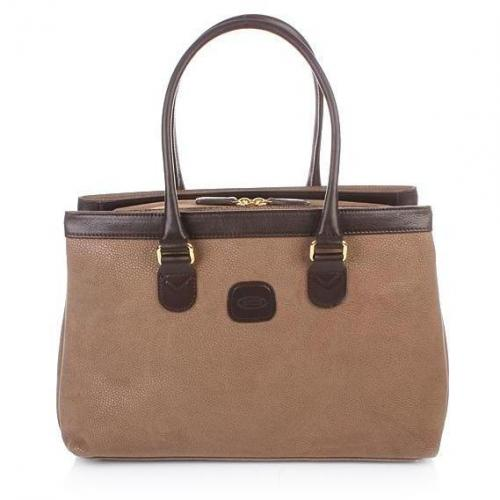 Bric's Life Handbag Zip-around Dove Grey