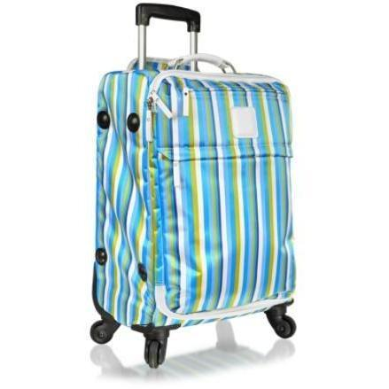 Bric's X-Bag Righe - Reisetrolley aus Nylon und Leder