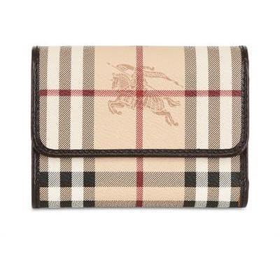 Burberry - Bellfield Haymarket Pvc Lasche Brieftasche