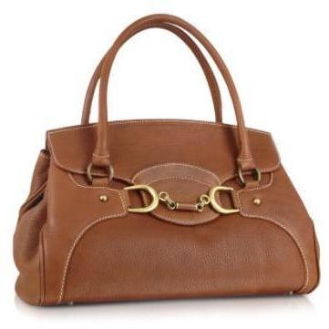 Buti Handtasche aus italienischem Leder mit Klappe