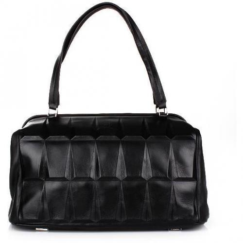 Calvin Klein Medium Satchel Black